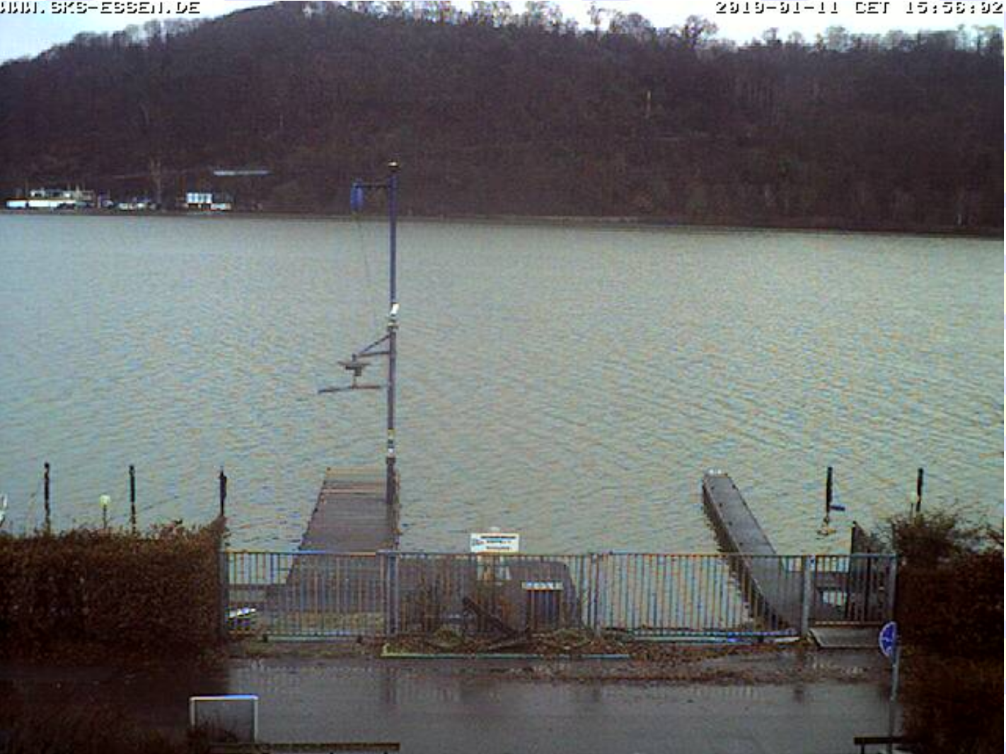 Live from the regatta course: No. 1 + 2 Baldeneysee + Aasee