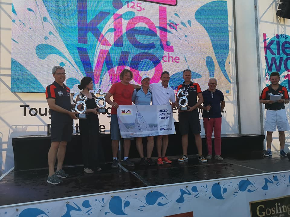 Mixed Inclusion Trophy – erstmals erfolgreich und spannend ausgesegelt